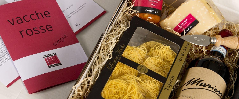 Donat Gut - Geschenk Set 5 - «PICCOLA GRANDE FESTA D'ITALIA»